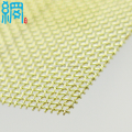 10x10 Mesh Brass Screen Fabric 0.5mm Wire Diameter