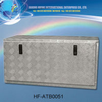 upright small size aluminium tool box