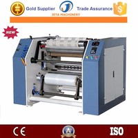[JT-FC500]Manual stretch film slitting and rewinding machine