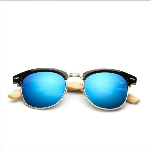 Cheap bamboo wood sunglasses half frame,Hot new products for 2016