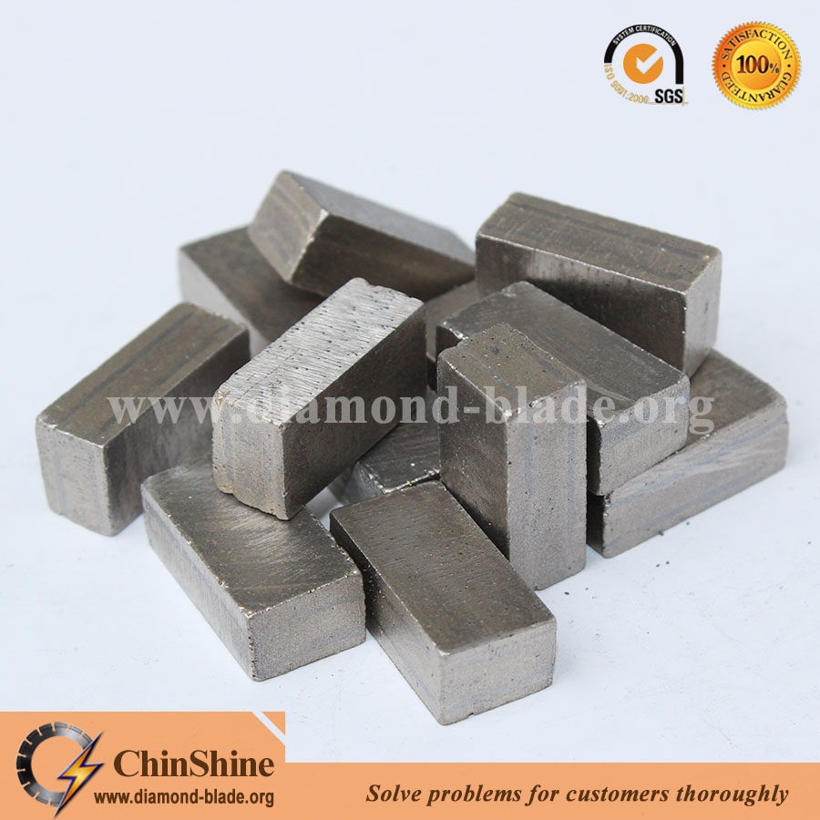 Multi layers type diamond blade cutting disc segment for granite cutting