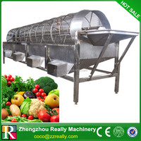 Vegetable and fruit processing line for super market