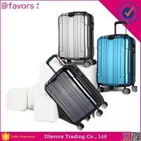 Hot selling abs/pc travel luggage bag it luggage cabin size printed hard shell luggage factory price in stock