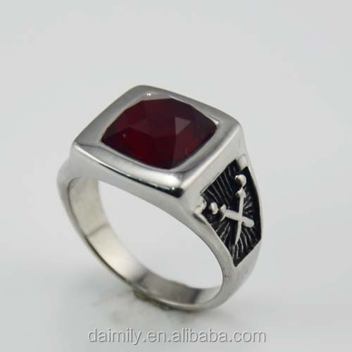 Fashion vintage gothic special design beautiful Stainless steel ring factory direct sale rings