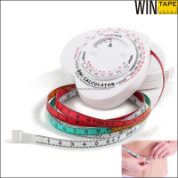 Keep Body Fitness Medical Gift Items PVC Measuring Tape Machine With BMI Calculator