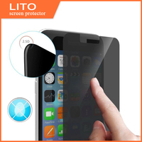 Best 100% anti-peeking screen protector 180 Degree Anti spy tempered glass screen protector for iphone 6