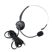Professional fashion stylish hot selling funny call centre headset with mic handsfree phone earphone/head set for oem