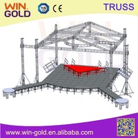 Aluminum concert stage roof truss from China
