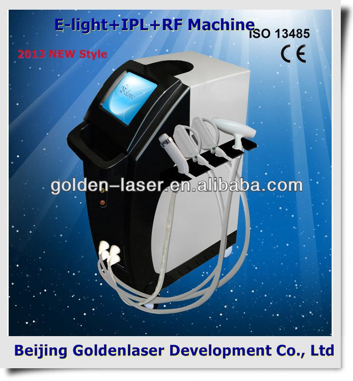 2013 laser tattoo removal slimming machine cavitation E-light+IPL+RF machine radio frecuencia