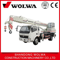 12 tons pickup mini truck crane made in china for sale GNQY-C12 type