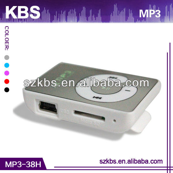 Very Cheap Clip Mini Clip Reproductor Mp3 Supports Many Audio Formats