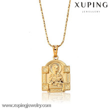31934 Xuping new 18k gold plated color jewelry religious pendant for Christmas Gifts
