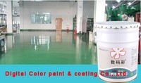 Solvent anti-corrsion epoxy resin flooring paint