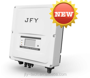 New!!JFY Sunleaf series solar on grid inverter,3kw 4kw 5kw grid tie inverter with certificate TUV VDE CE RoHs G83 G59 IEC ENEL