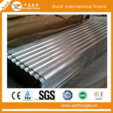 Corrugated galvanized roofing tile, strong and beautiful