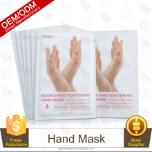 Vitamin E-adding , Deep Tightening And Smoothing Benifits Sheet Hand Mask