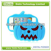 Hot Horrible Pumpkin 3D Silicon Animal case for iPhone 4 4s