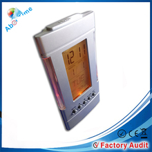 LCD digital clocks with date and day