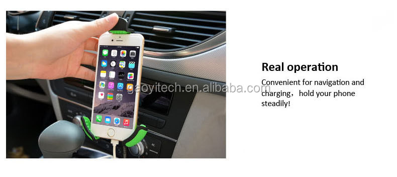 2.1A Dual Port Car Charger Portable Travel Charger Rapid Car Charger Auto Adapter for iPhone 6