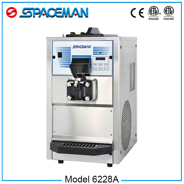 Counter Top Frozen Yogurt Machine 6228A with CE ice cream maker