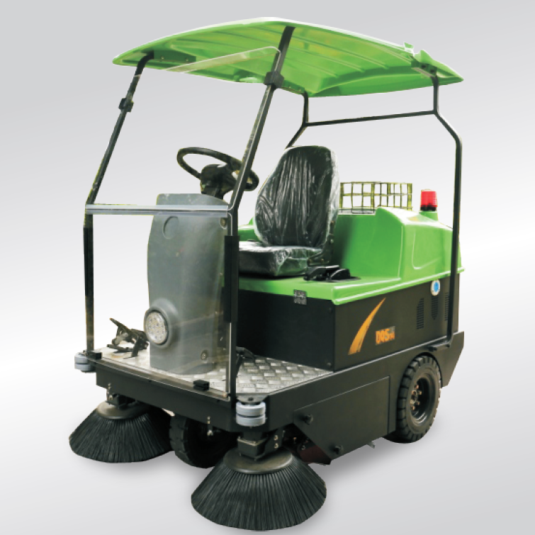 electric sweeper vehicle