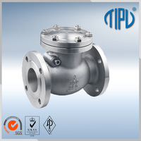 swing check valve gas for water