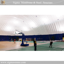 Factory custom inflatable sport dome/football air dome/air structure building for sale