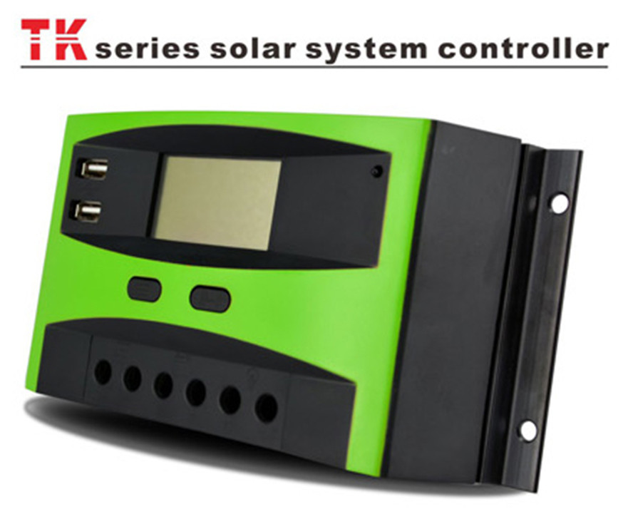High efficiency dc electronic load mppt solar charge controller