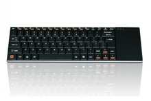 9mm thickness Newest 2.4Ghz keyboard for google chromecast support nine languages Support You face on Global market