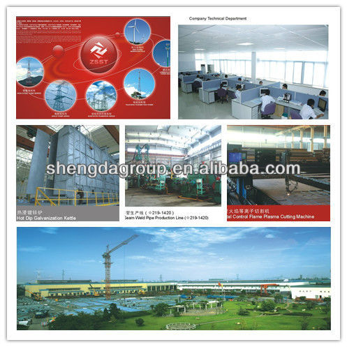 Angle Steel Transmission Tower made in China