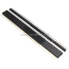 Male & Female 40pin 2.54mm SIL Pin Header Socket Row Strip PCB Connector