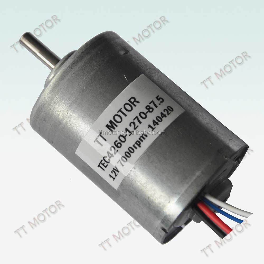 42mm 24v brush brushless motor for bike