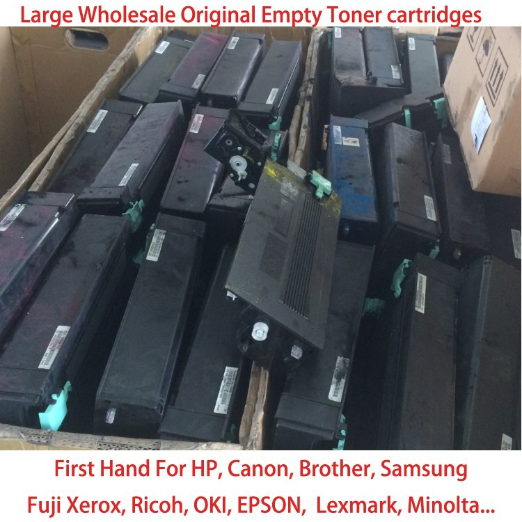 wholesale original recycle toner cartridge for HP Canon Brother oki fuji xerox epson lexmark samsung brank