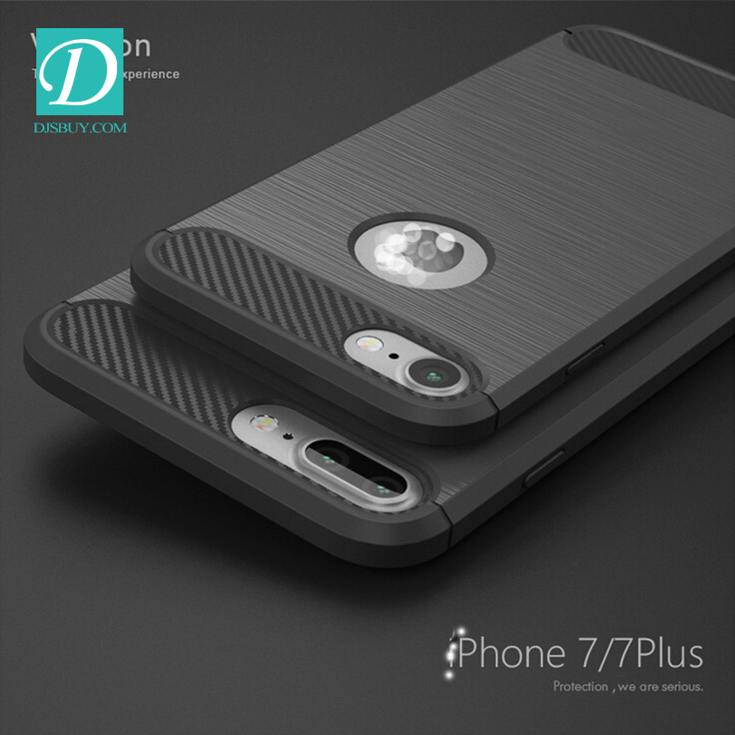 Korean style streak tpu+silicone cell phone case for iphone7/7plus