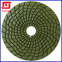 New and wet great quality diamond polishing pad for angle grinder hand polisher