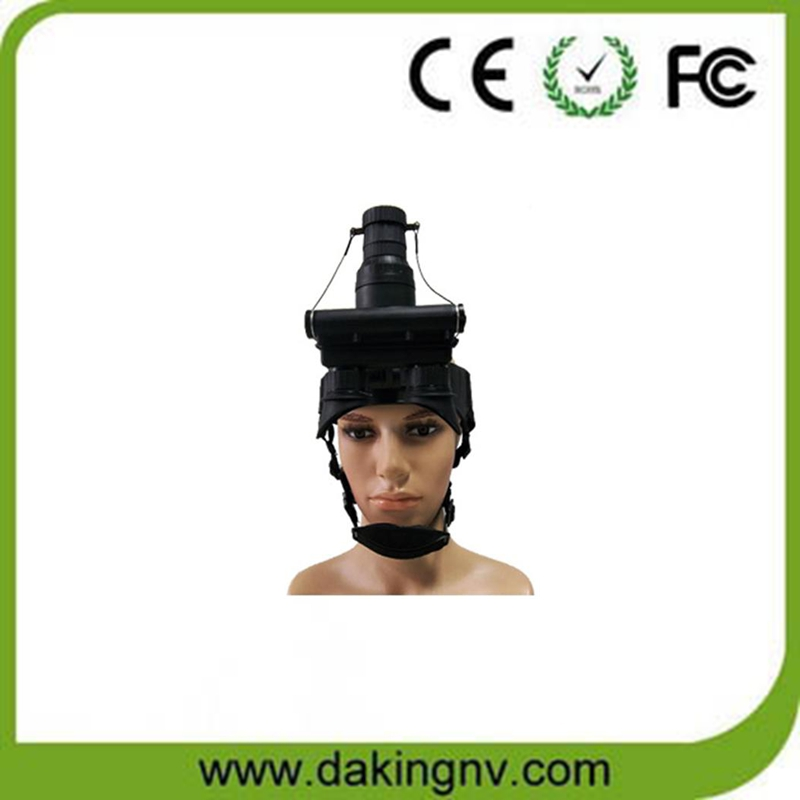 Infrared night vision goggles housing with auto-bright control