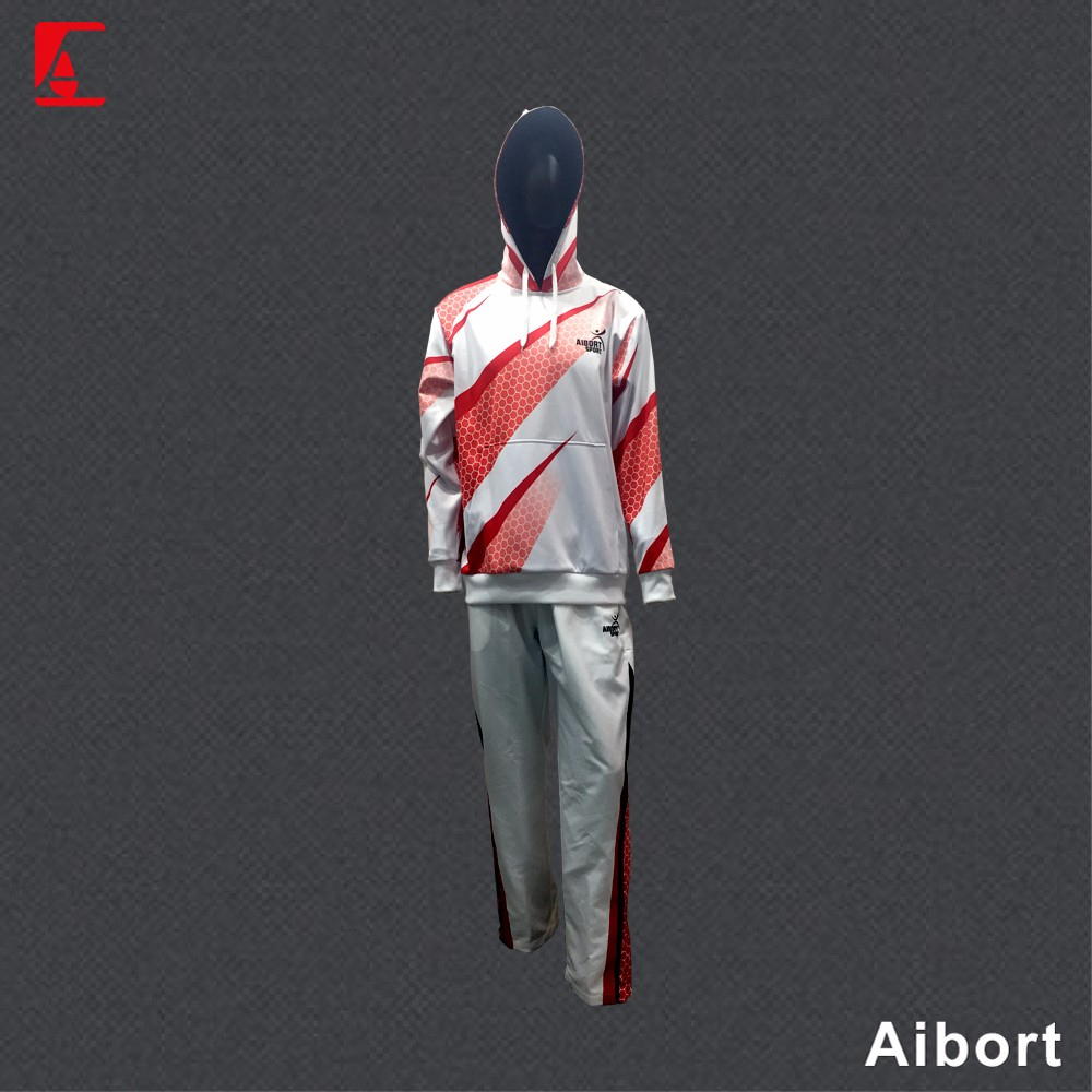 mens sublimation tracksuit fleecy hoody sportswear