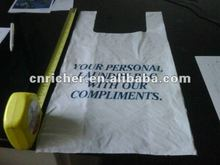 HDPE Disposable Plastic laundry Bag
