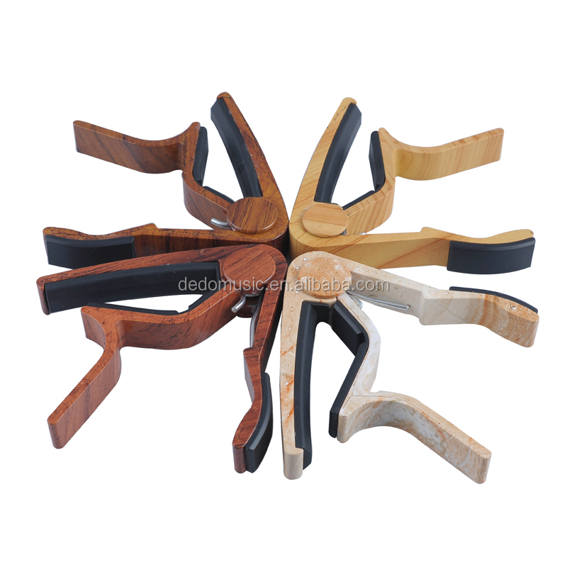 Used for classic guitar wood color 8 string guitar capo