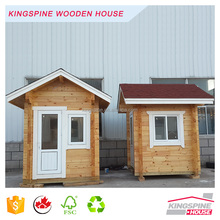 Wooden Guard House Prefabericated Small Booth With High Quality of KINSPINE