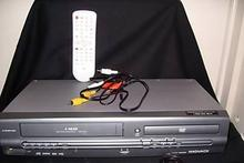 MAGNAVOX DVD/VCR PLAYER-RECORDER