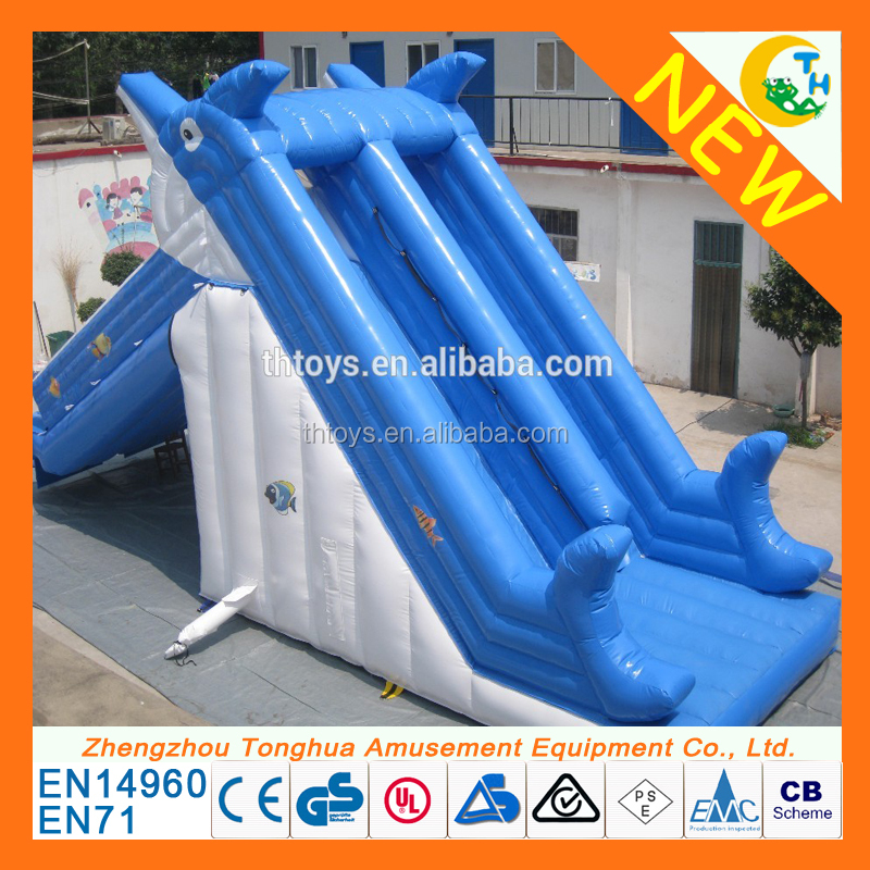 hot sale water park games inflatable water slide