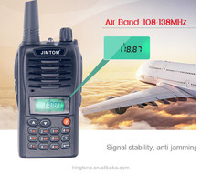 (fm version only )108-136mhz air band transceiver fm portable radio