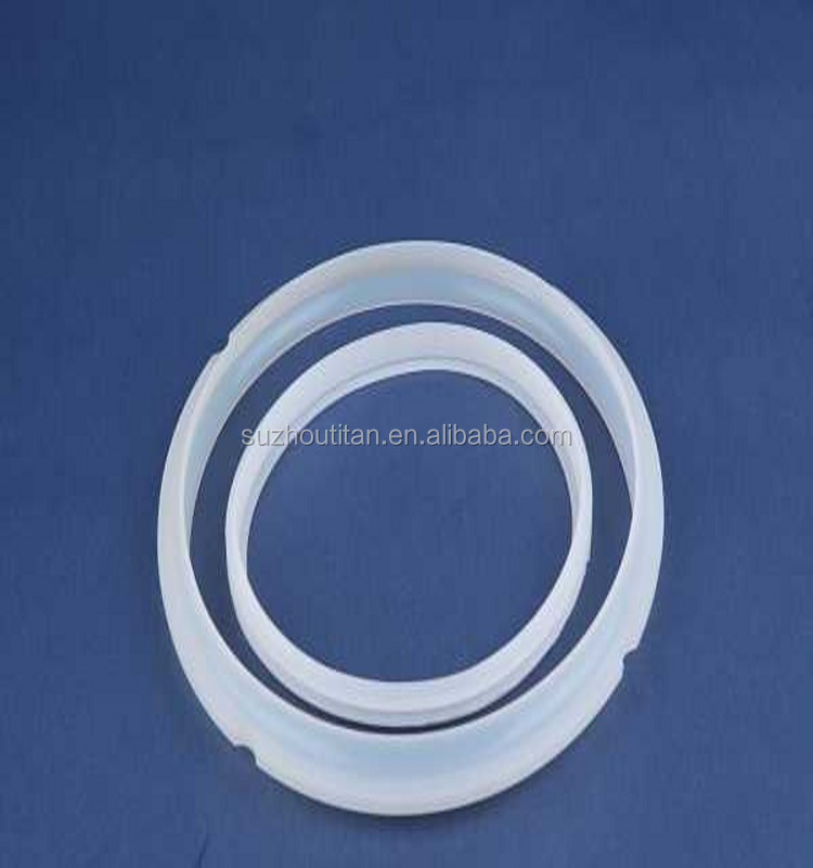 Customized wear resistant felt silicon glass jar ring seal