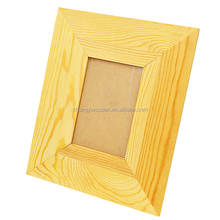 factory sale FSC&SA8000&BSCI unfinished wooden photo frames for decoration