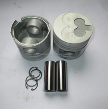 Total height 72mm aluminum yb100 piston C240-3g 8-94250-729-0