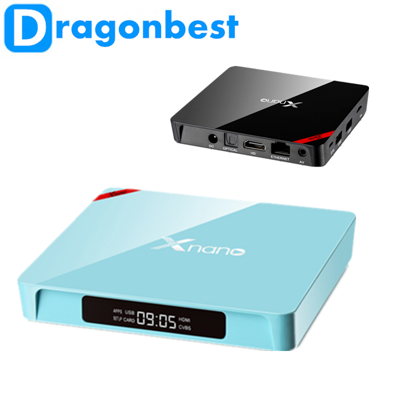 X96 Pro Xnano S905X 2G 16G cheapest android tv box linux of China National Standard