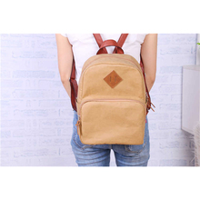 hot selling street style washable kraft paper backpacks