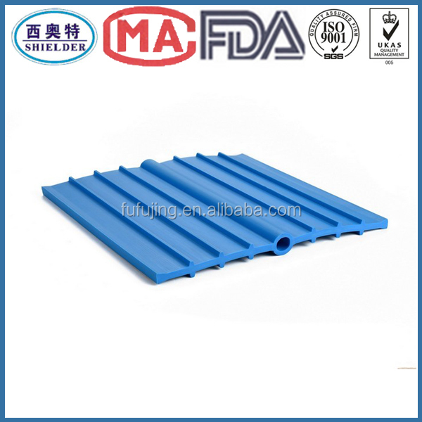 Grouting tube type swell stop waterstop