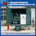 Mobile Insulation Oil Purifier, Enclosed Insulation Oil Recovery Plant, Trailer-Mounted Insulation Oil Renew Plant